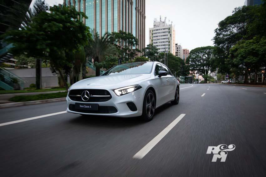 Versão A 250 Vision possui motor 4 cilindros turbo com dois litros e 224 cv