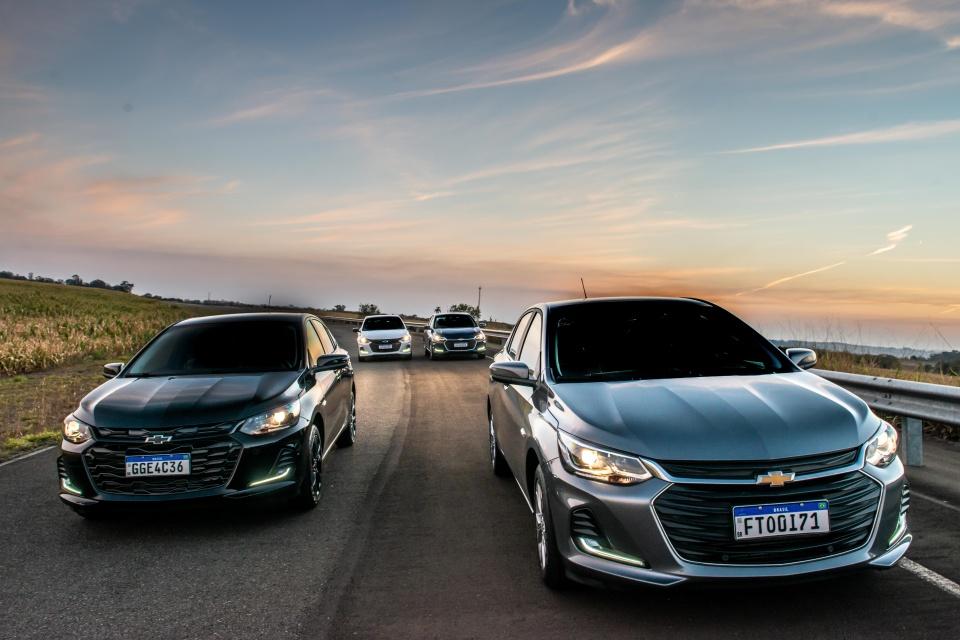 Chevrolet Onix e Onix Plus.