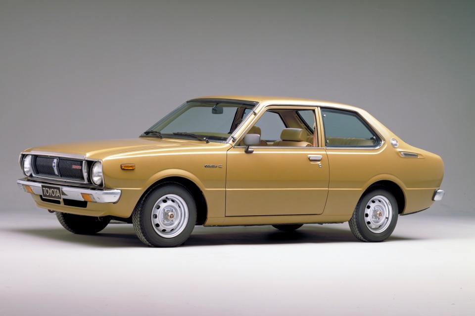 Toyota Corolla 3ª Geração 1974 – 1979