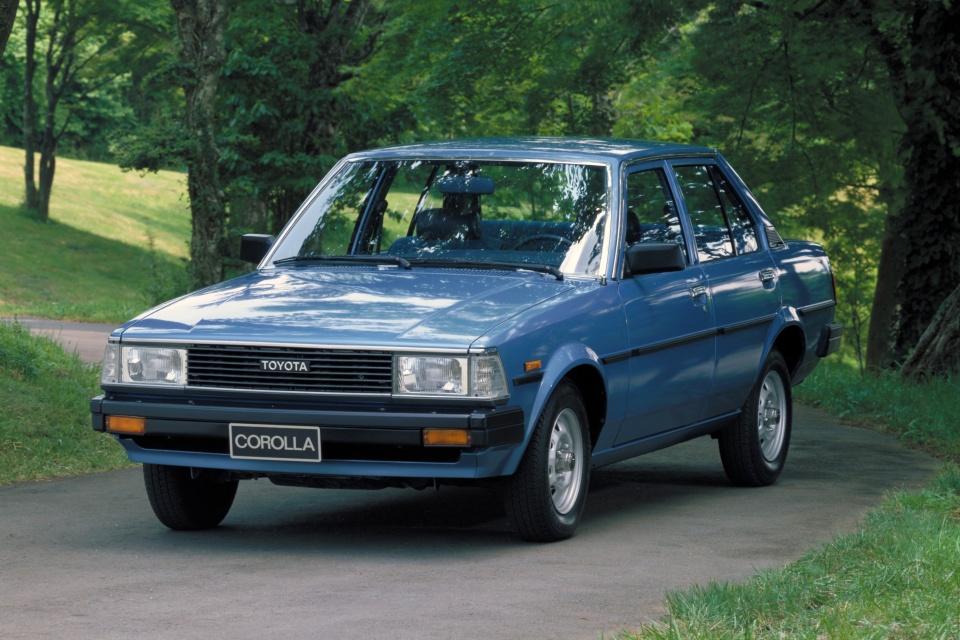 Toyota Corolla 4ª Geração 1979 – 1983.