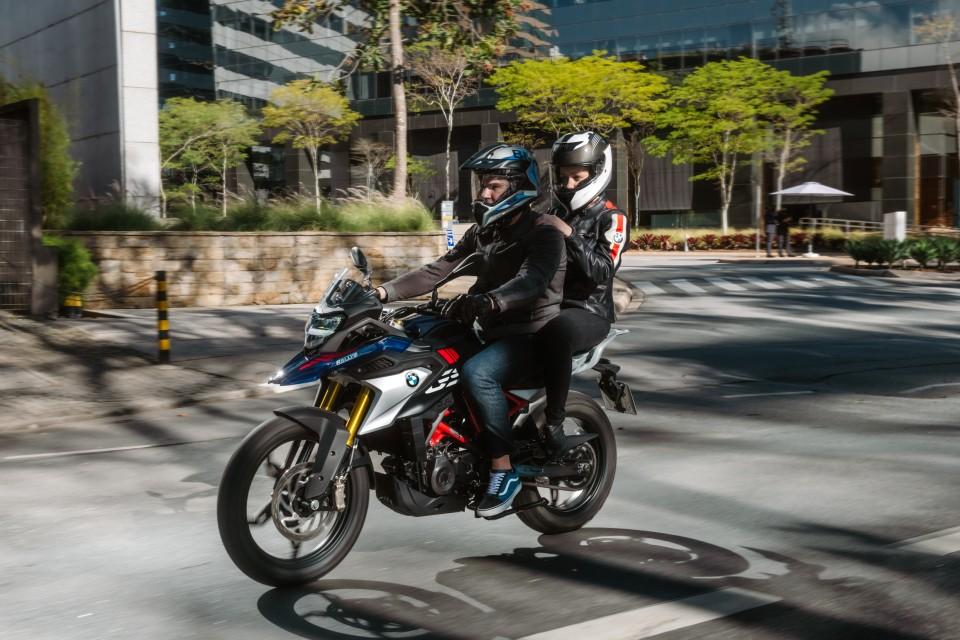 BMW Motorrad G 310 GS.