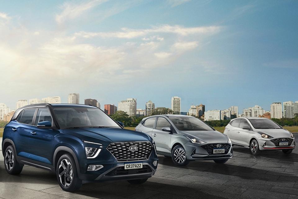 Hyundai Creta e HB20