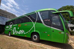 Chassi de ônibus BYD D9F.