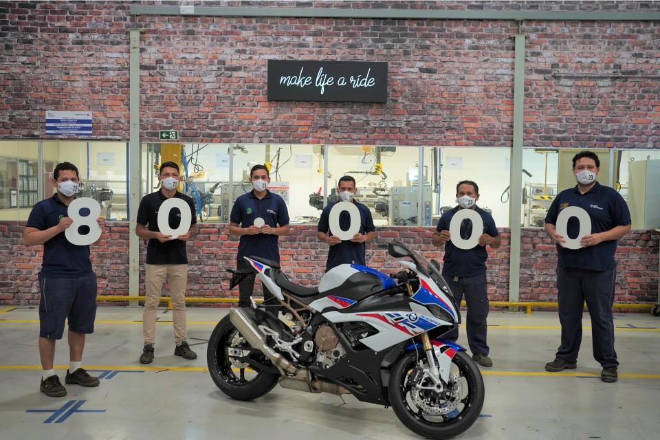 BMW Motorrad comemora 80 mil motocicletas produzidas no Brasil. Fotos: BMW.